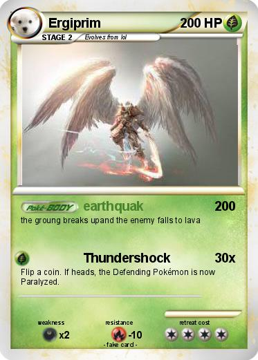 Design And Print Your Own Pokemon Card