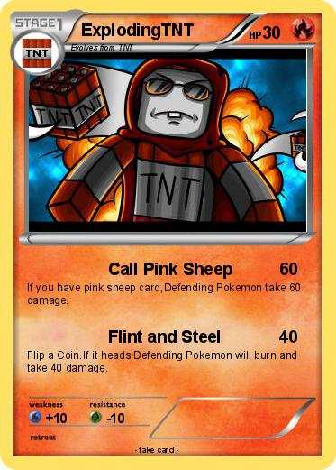 Pink sheep explodingtnt - photo#29