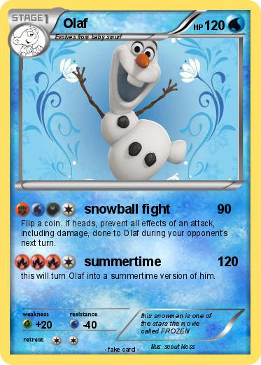 Pokemon Olaf 68