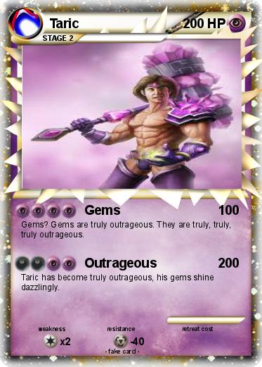 Pokémon Taric 4 4 - Gems - My Pokemon Card