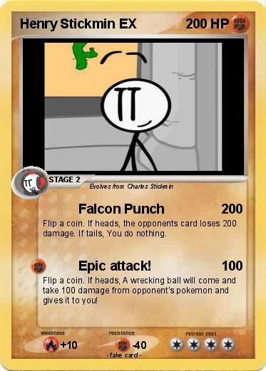 Pokémon Henry Hudson 10 10: Pokémon Henry Stickmin EX