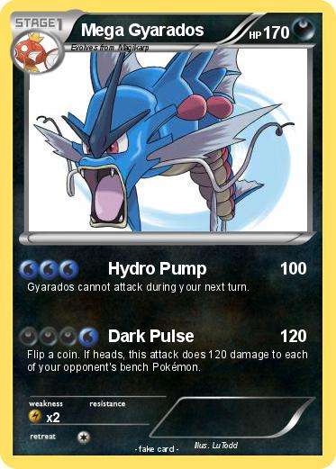 When does Gyarados learn Hydro Pump ... - gamefaqs ...