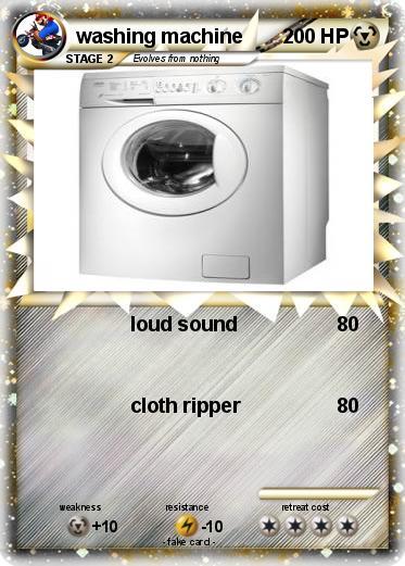 Pokemon washing machine 2