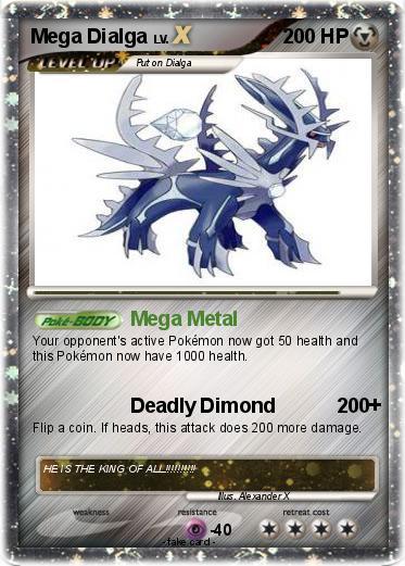 Pokémon Mega Dialga 56 56 - Mega Metal - My Pokemon Card