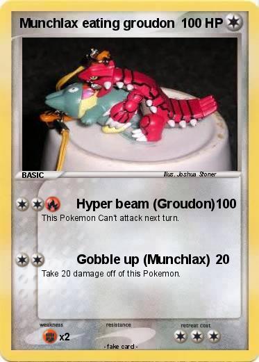 Pokémon Munchlax eating groudon - Hyper beam (Groudon ... | 373 x 521 jpeg 33kB