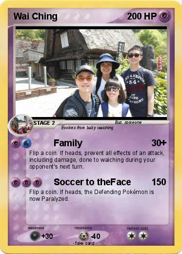 Pokémon Wai Ching - Family - My Pokemon Card