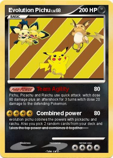 how to get pichu to evolve