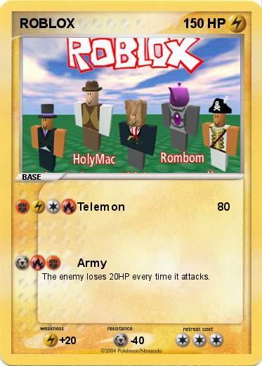 Pokémon ROBLOX 9 9 - Telemon - My Pokemon Card