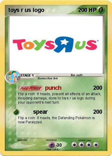 Pokemon Toys R Us Logo