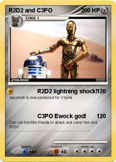 Pokemon R2D2 and C3PO 2
