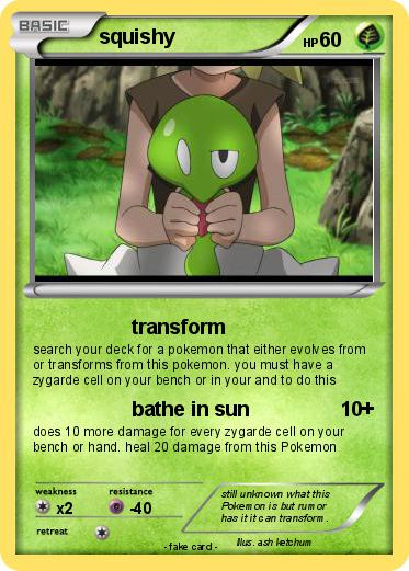 Pokemon squishy 81 81 - transform - My Pokemon Card