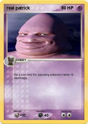 Pok 233 Mon Real Patrick My Pokemon Card
