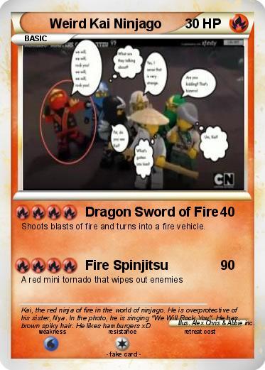 Pokémon Weird Kai Ninjago - Dragon Sword of Fire - My ...