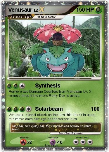 Pokémon Venusaur 242 242 - Synthesis - My Pokemon Card