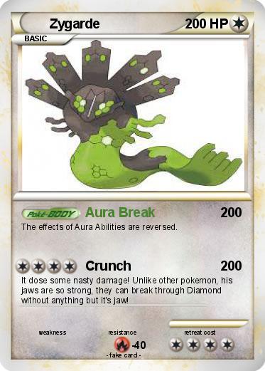 Pokemon Zygarde Card Images | Pokemon Images