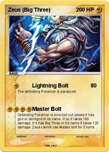 Pokemon Zeus Big Three