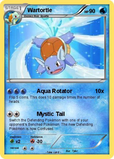Pokemon: should wartortle learn aqua tail? | Yahoo Answers