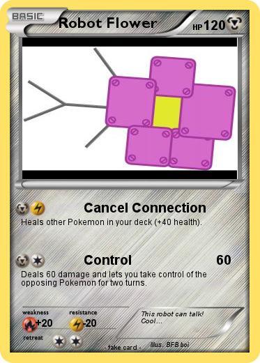 Pokemon Robot Flower