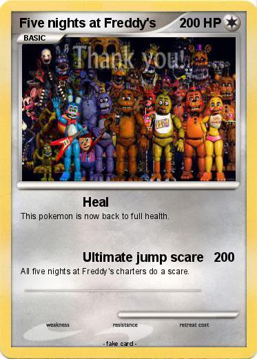 Pok 233 mon five nights at freddy s 12 12 heal my pokemon card