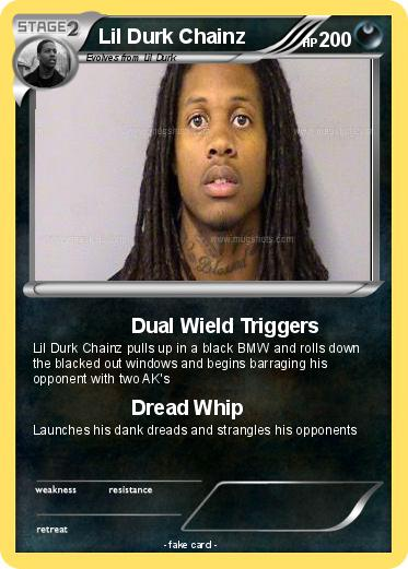 Lil Durk With Dreads Pokemon lil durk chainz