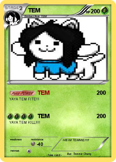 Pokmon TEM 16 My Pokemon Card
