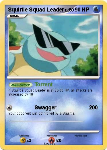 Squirtle Card 29
