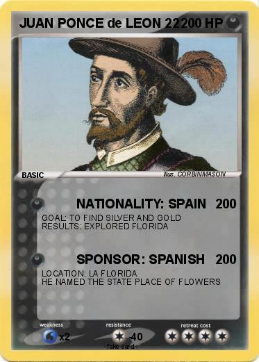 juan ponce de leon spanish explorer