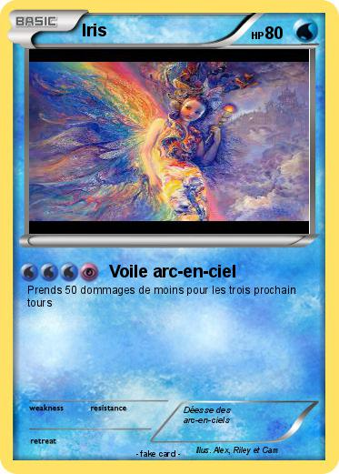 Pokémon Iris 210 210 - Voile arc-en-ciel - My Pokemon Card