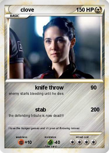 pok233mon clove 26 26 knife throw my pokemon card