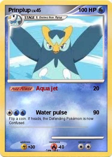 Prinplup Pokemon Card Images | Pokemon Images