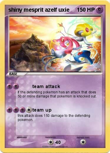 Pokemon shiny mesprit azelf uxie
