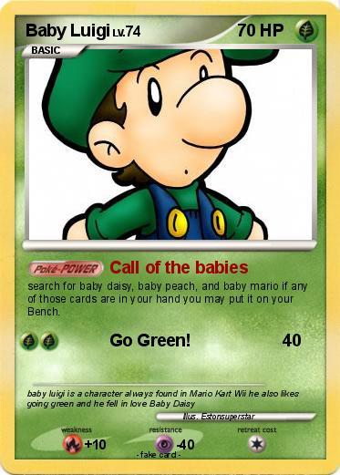 Pokemon Baby Luigi 90