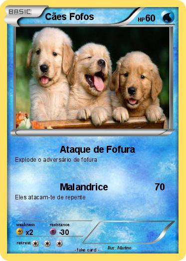 Pokemon Caes Fofos