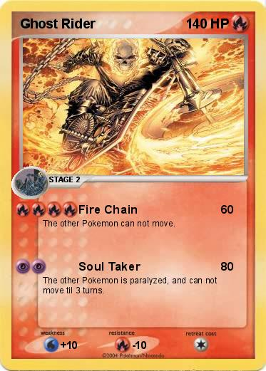Pokemon Ghost Rider