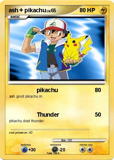 pokemon passport name ash pikachu type lighting attack 1 pikachu ashPokemon Pikachu And Ash