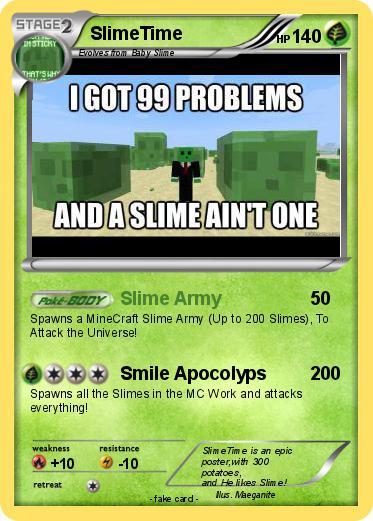 Pokémon SlimeTime - Slime Army - My Pokemon Card