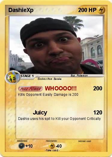 Pokmon DashieXp 4 WHOOOO My Pokemon Card