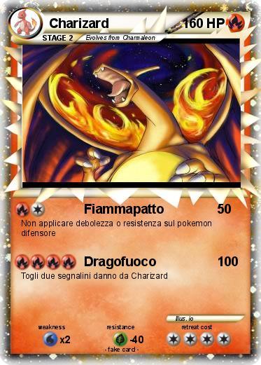 Pokémon Charizard 2905 2905 - Fiammapatto - My Pokemon Card: www.mypokecard.com/en/Gallery/Pokemon-Charizard-2905