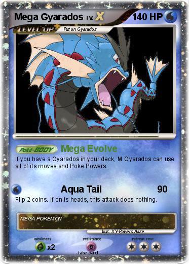 Pokémon Mega Gyarados 15 15 - Mega Evolve - My Pokemon Card