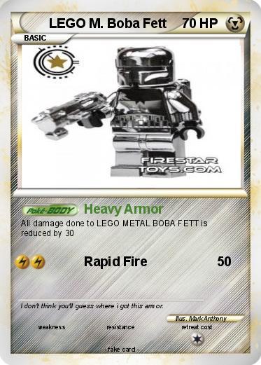 Pokemon LEGO M. Boba Fett