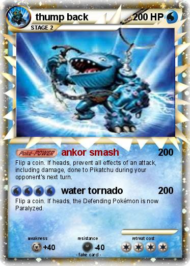 image about Printable Pokemon Cards named Pokemon thump again