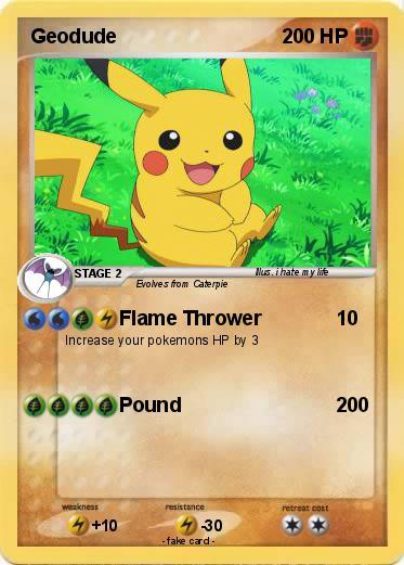 Pokemon Geodude Images