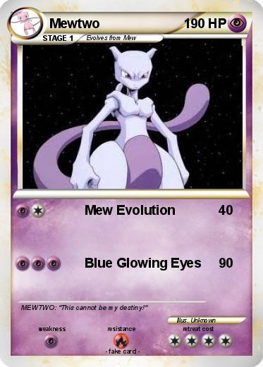 Pok mon mewtwo 2883 2883 mew evolution my pokemon card - Mewtwo evolution ...