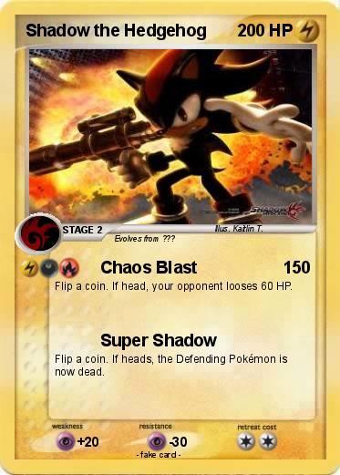 Pok mon shadow the hedgehog 270 270 chaos blast my - Shadow the hedgehog pokemon ...