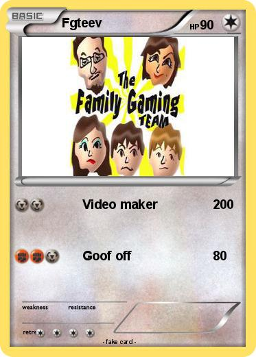Pokmon Fgteev 4 Video Maker My Pokemon Card