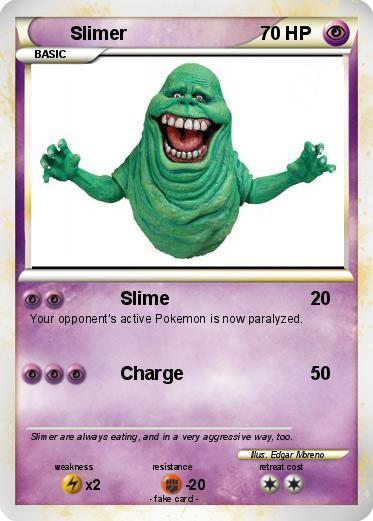 Pokémon Slimer 38 38 - Slime - My Pokemon Card