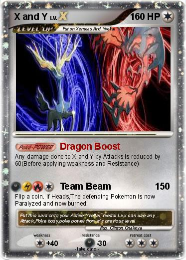 Pokémon X and Y - Dragon Boost - My Pokemon Card