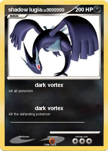 Pokémon 200000000 - dark vortex - My Pokemon Card