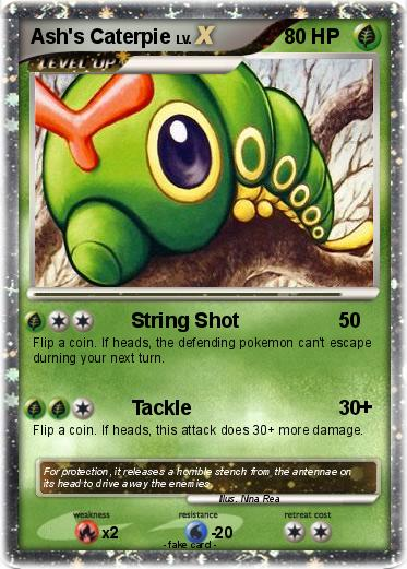 Pokémon Ash s Caterpie - String Shot - My Pokemon Card: www.mypokecard.com/en/Gallery/Pokemon-Ash-s-Caterpie