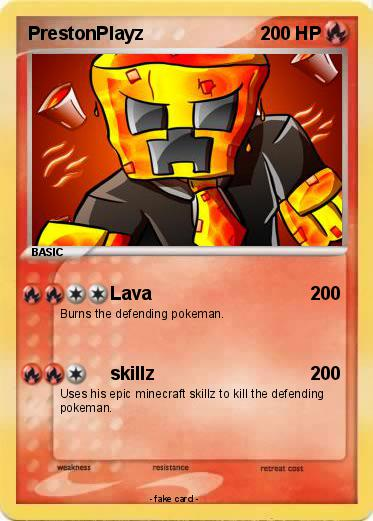 Pok mon prestonplayz 18 18 lava my pokemon card - Mypokecard com ...
